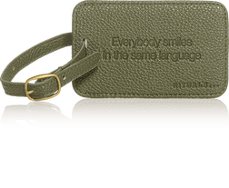 Travel Hang Tag - Olive Green