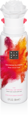 The Ritual of Holi Shower Foam Flower
