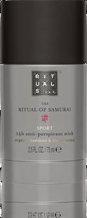 The Ritual of Samurai Anti-Perspirant Stick Sport