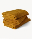 Graphic Design Cotton Towel 70x140cm Ocre Yellow
