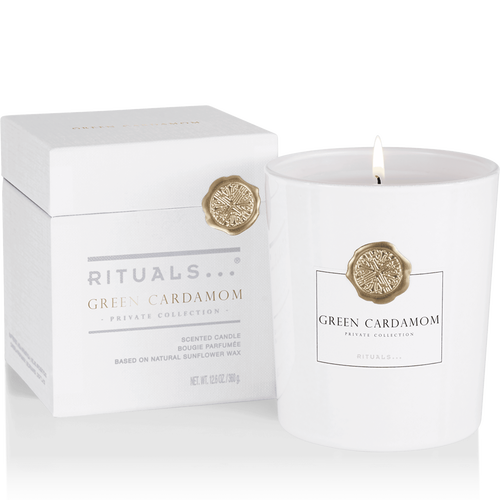 Green Cardamom Scented Candle