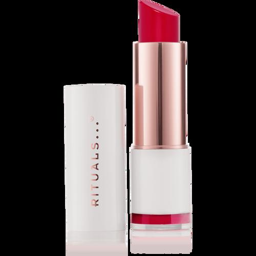 Lip shine - soft red