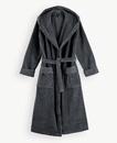 Super Smooth Cotton Bathrobe Women S Charcoal Grey