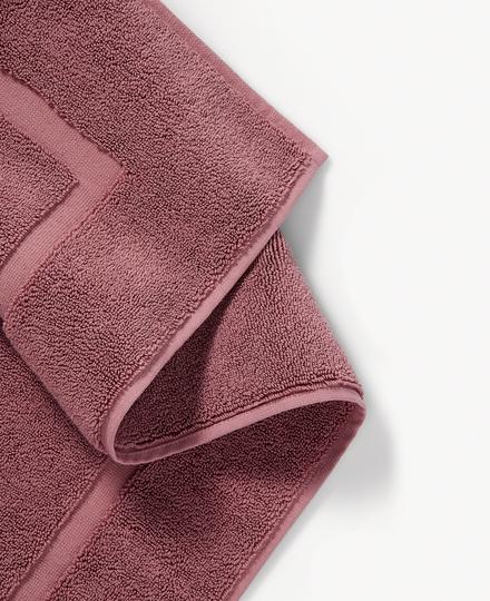 Super Smooth Cotton Bath Mat 70x120cm Powder Pink