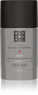 The Ritual of Samurai Anti-Perspirant Stick Sport