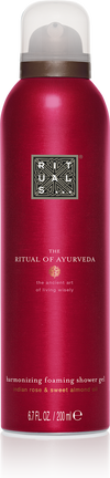 The Ritual of Ayurveda Foaming Shower Gel