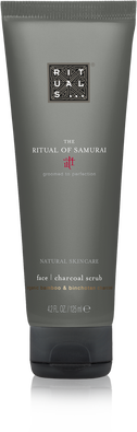 The Ritual of Samurai Face Charcoal Scrub
