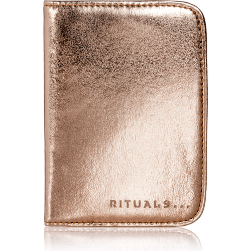 Passport Holder - Metallic Rose