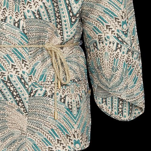 Jasleen - Feather jaquard