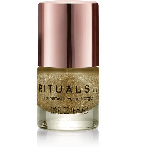 Miracle Nail Varnish Glittery Gold