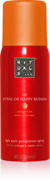 The Ritual of Happy Buddha Anti-Perspirant Spray