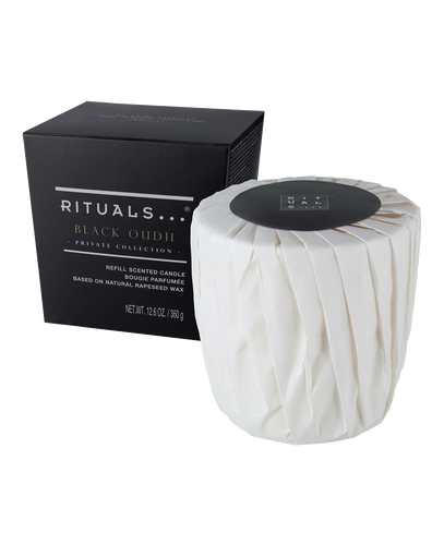 Black Oudh Scented Candle Refill