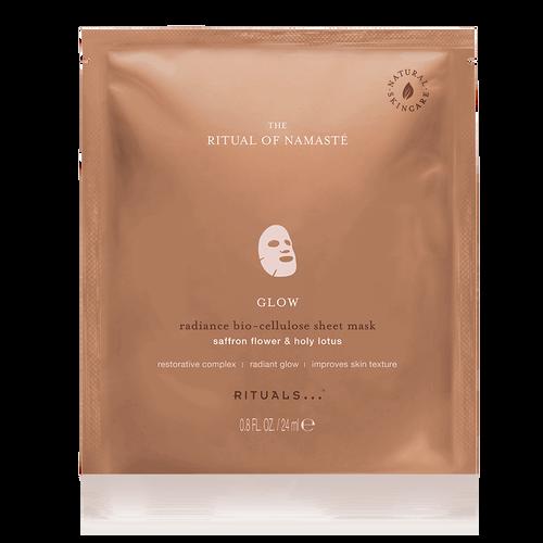 The Ritual of Namasté Glow Radiance Sheet Mask