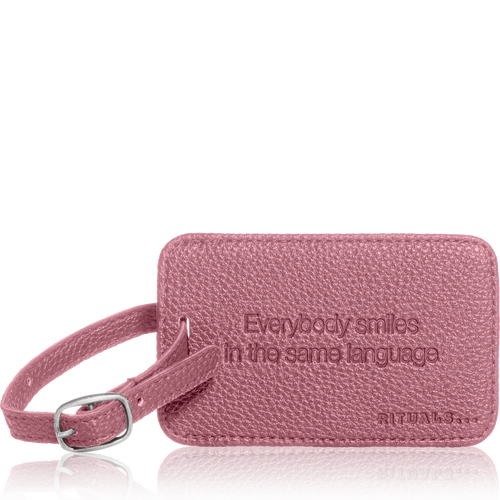 Travel Hang Tag - Vintage Pink