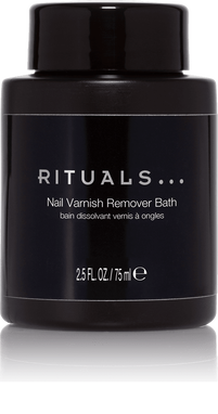 Nail varnish remover bath
