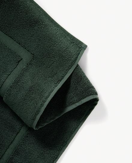 Super Smooth Cotton Bath Mat 70x120cm Moss Green