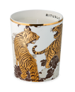 Luxury Candle Holder - Golden Tiger
