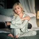 The Ritual of Jing Pyjama top - Green sheen - S