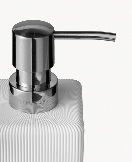 Acora Soap Dispenser White