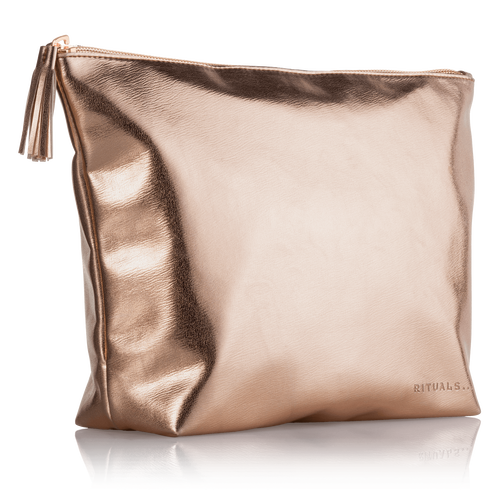 Travel Bag For Her - Metallic Rose