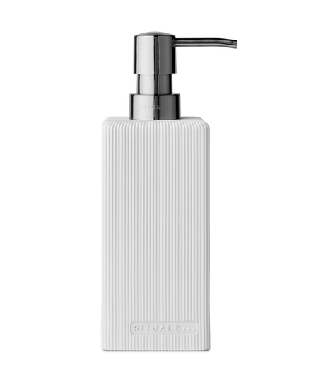 Acora Soap Dispenser White
