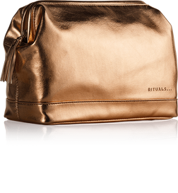 Luxury Travel Bag For Her - Bronze Metallic
