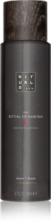 The Ritual of Samurai Shave Foam