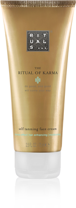 The Ritual of Karma Self Tanning Face Cream