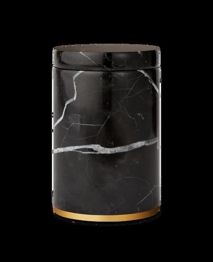 Dedaine Cotton Jar Black Marble