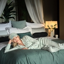 The Ritual of Jing Pyjama trousers - Green sheen -