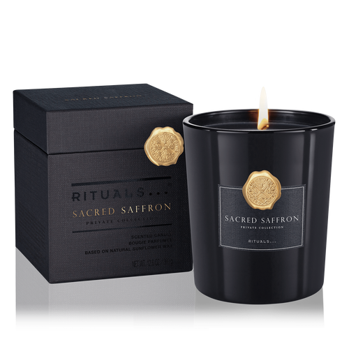 Sacred Saffron Scented Candle