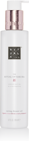 The Ritual of Sakura Shower Oil