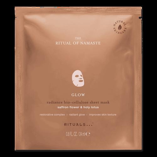 The Ritual of Namaste Glow Radiance Sheet Mask
