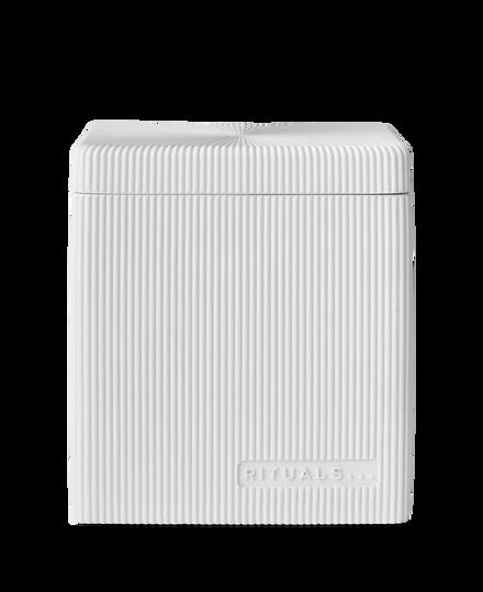 Acora Cotton Jar White