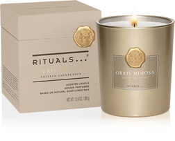 Orris Mimosa Scented Candle