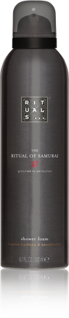 The Ritual of Samurai Foaming Shower Gel