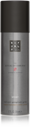 The Ritual of Samurai Anti-Perspirant Spray Sport