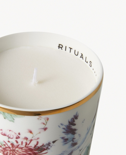 Luxury Candle Holder - Tropical Cranes