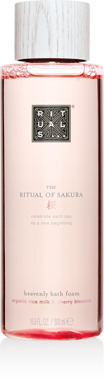 The Ritual of Sakura Bath Foam