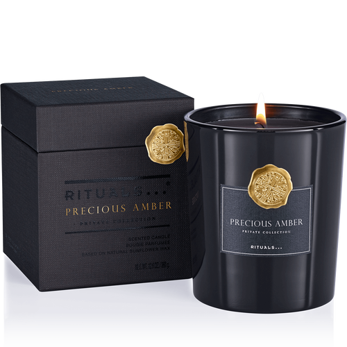 Precious Amber Scented Candle