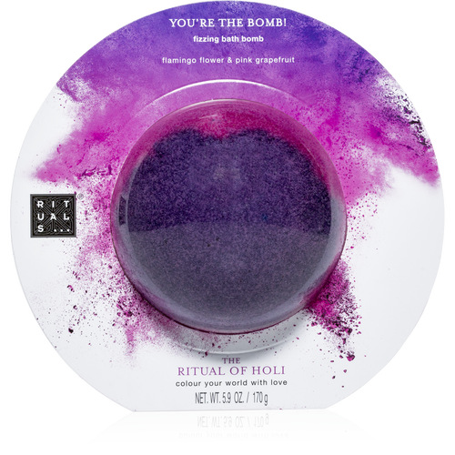 The Ritual of Holi Fizzing Bath Bomb