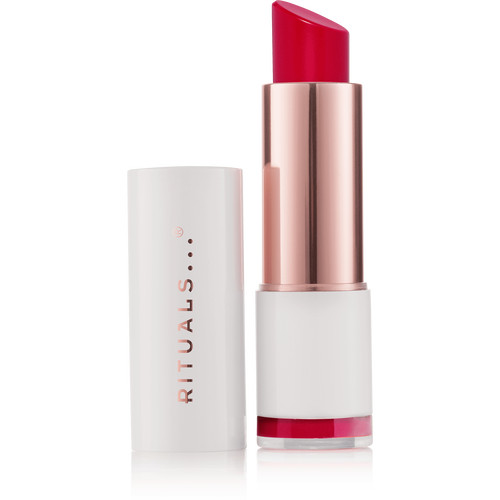 Lip shine - soft red