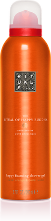 The Ritual of Happy Buddha Foaming Shower Gel