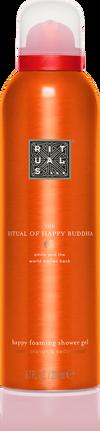 The Ritual of Happy Buddha Foaming Shower Gel