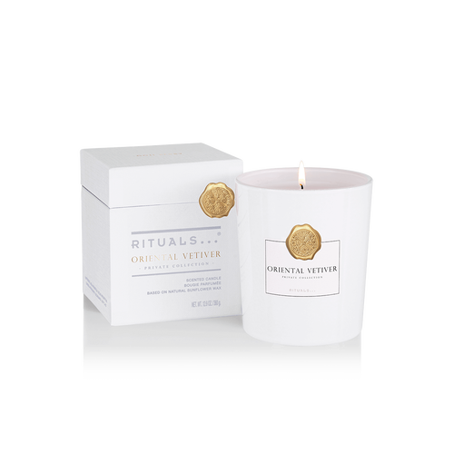 Oriental Vetiver Scented Candle