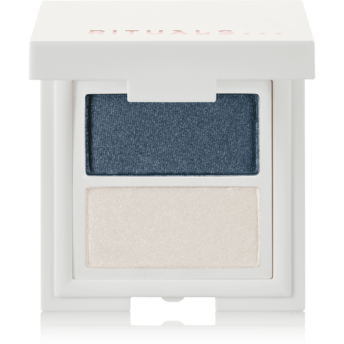 Miracle Duo Eye Shadow - Greyish & Blue