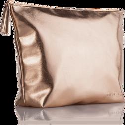 Travel Bag For Her - Metallic Rose
