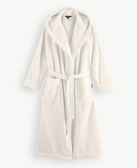 Super Smooth Cotton Bathrobe Women S Off White