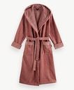 Super Smooth Cotton Bathrobe Women S Powder Pink