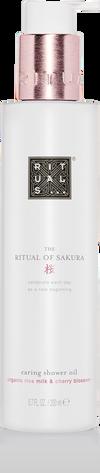 The Ritual of Sakura Shower Oil